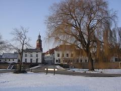 View on wintery Buren