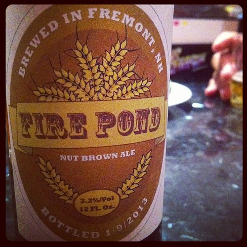 Fire Pond Nut Brown Ale (Thanks Larry!)