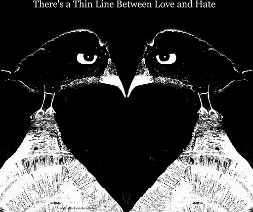 Thin Line Between Love and Hate by Eddy Allart