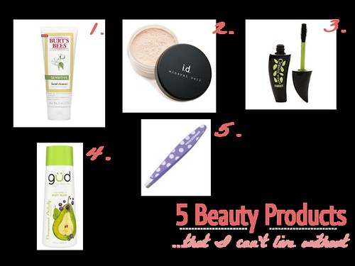 5 Beauty Items I Cannot Get Enough Of