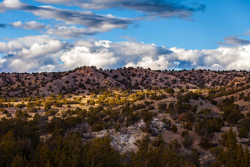 newmexico clouds landscape lamy galisteopreserve