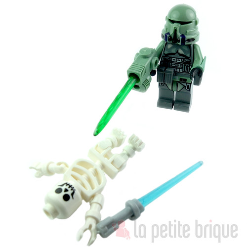Sand Green Airborne Mace Trooper by LaPetiteBrique.com
