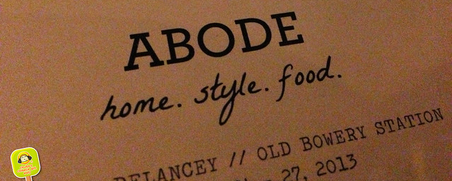 The Old Bowery Station - Abode family meal pop up dinner 10