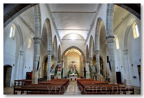 Interior da Igreja de S. João Batista, Moura by VRfoto