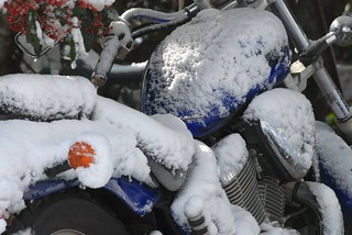 Winter Motorcycling Advice