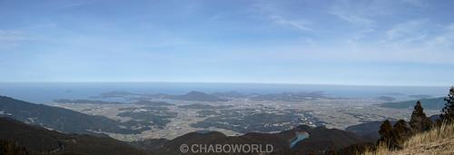 Itoshima Peninsula panorama