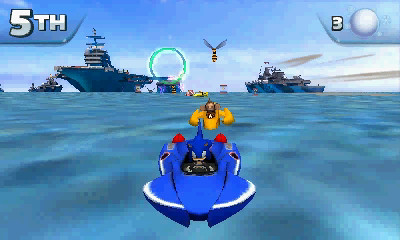Sonic & All-Stars Racing Transformed 3DS