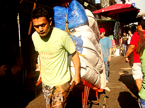 Working Man at Divisoria