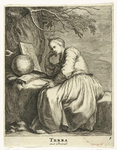 012-Tierra, Frederick Bloemaert, 1632-Rijksmuseum API Collectie