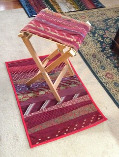 Folding Necktie Stool