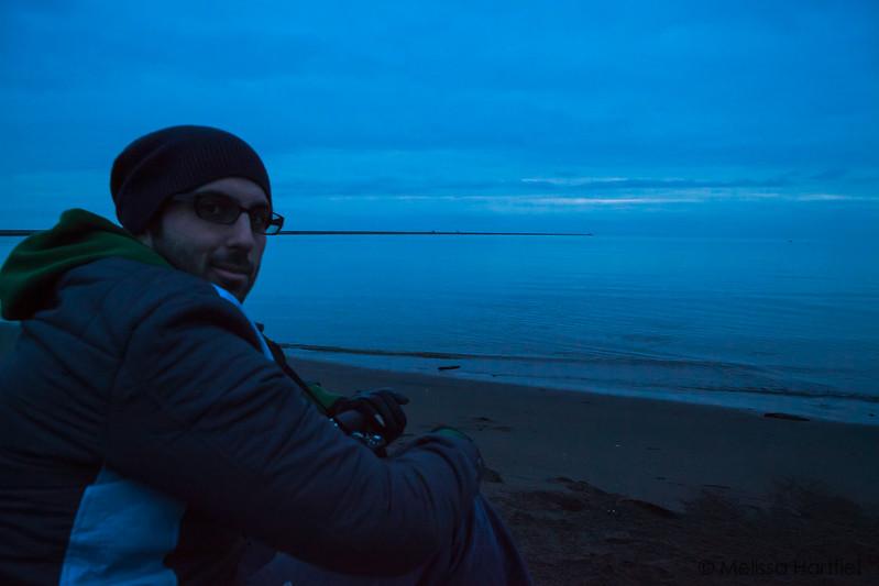 Winter at Iona