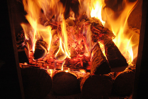to build an upside-down fire ( and revolutionize sauna starting? ). III.