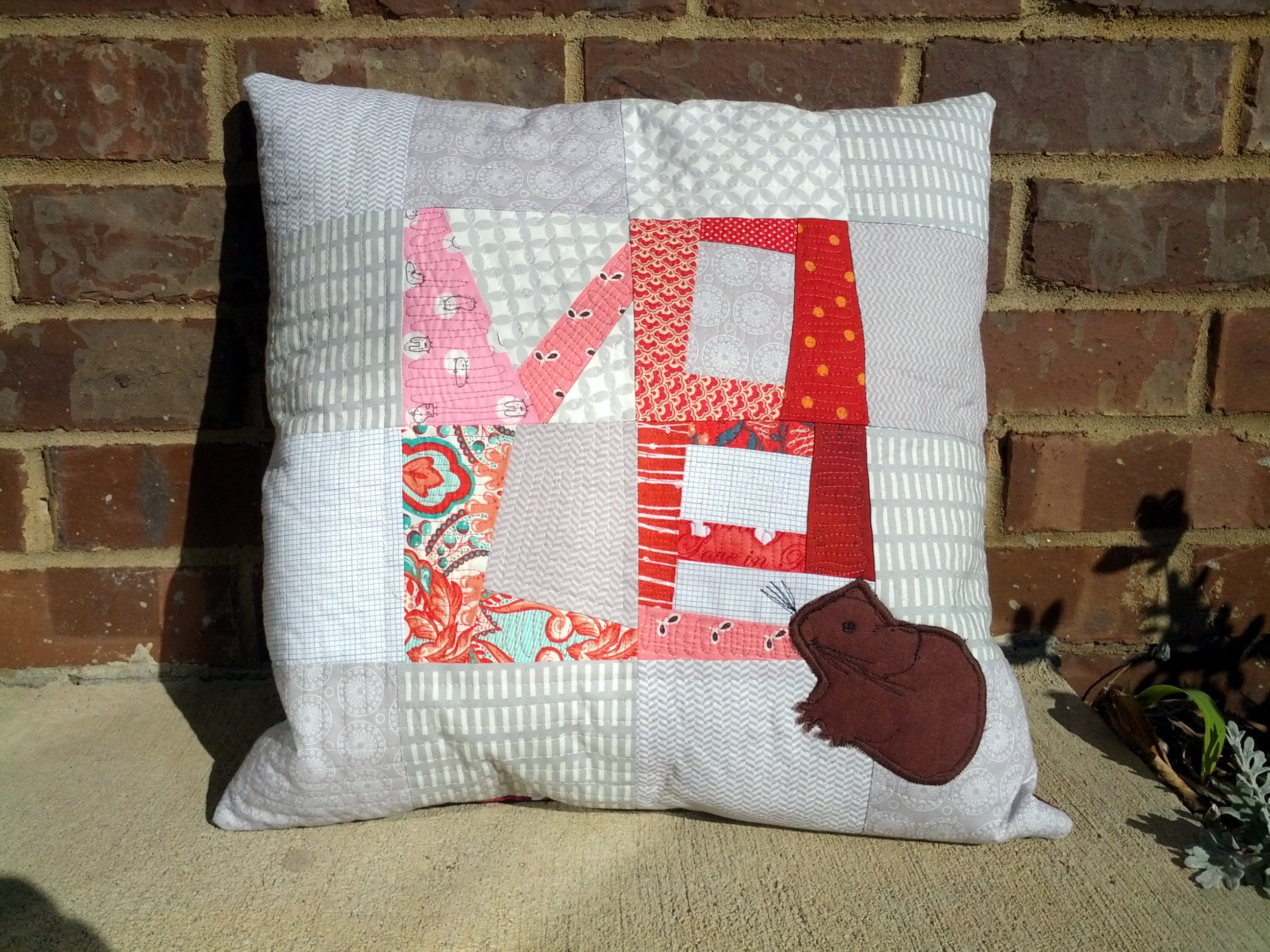 Volentine's day pillow