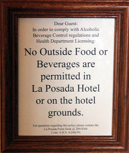 La Posada - Surprising Sign