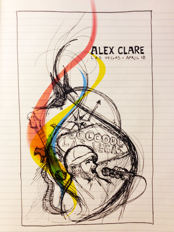 Alex Clare @ Las Vegas - image 7 - student project