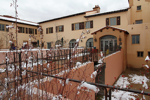La Posada - Entrance in Winter