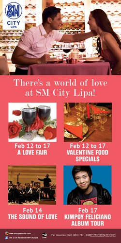 SM City Lipa Valentines Activities