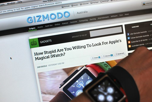 When Gizmodo Australia said I looked stupid