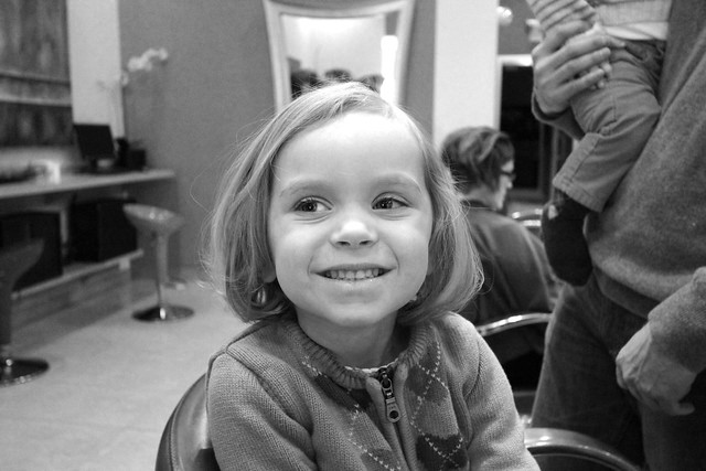 Little Ps first haircut