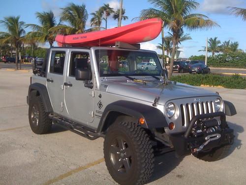 Kayak On A Soft Top Jeep Wrangler Forum