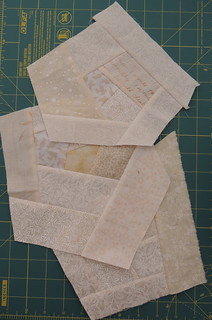 Cream crumb made fabric