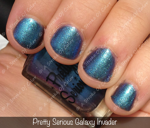 Pretty Serious Galaxy Invader