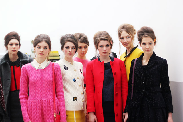 Orla Kiely AW13 London Fashion Week presentation