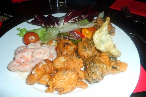 Starters at Cook & Indi's World Buffet in Sauchiehall St, Glasgow
