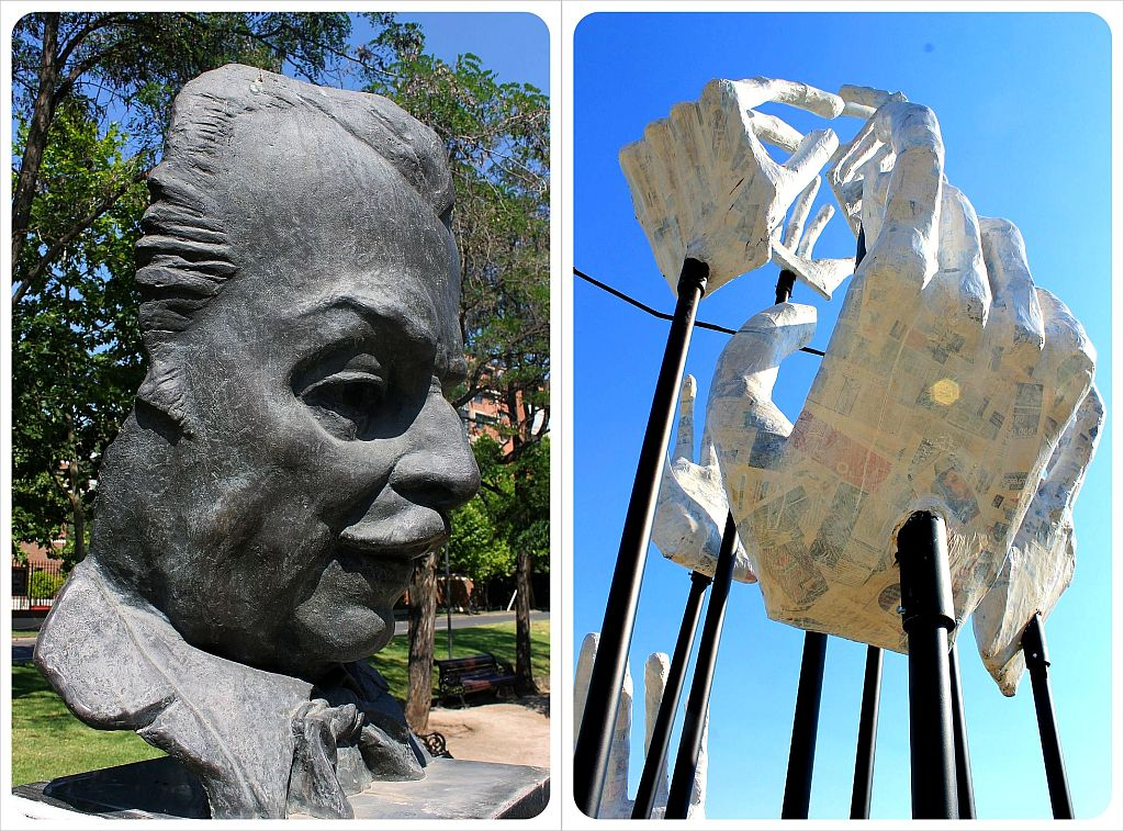 Santiago sculptures