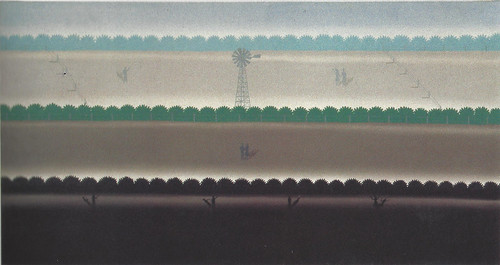 Roger Brown, Farm, 1975