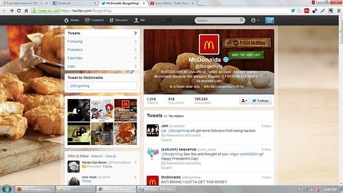 Hacked Burger KingTwitter