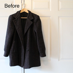 How to insert a horizontal-zipper into a coat