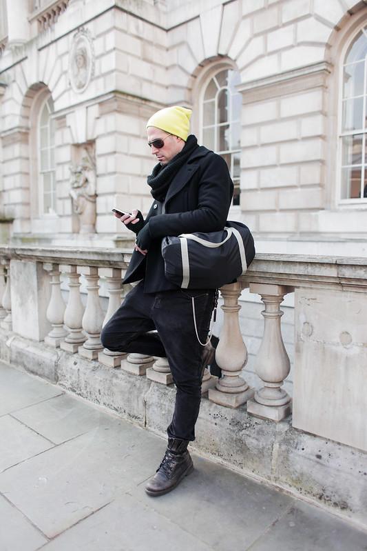 LFW Street Style - George