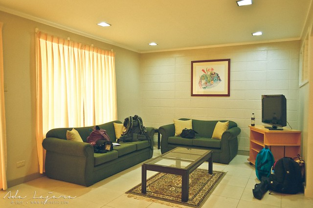 Living room at Subic Homes