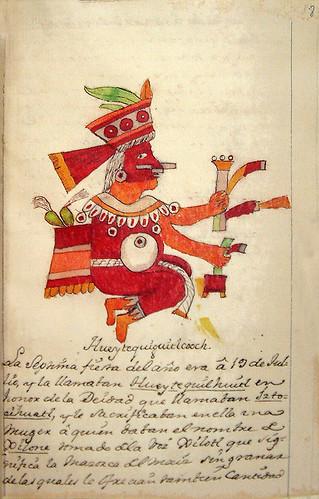 012- Septima fiesta Hueytequiguitlecooch-Códice Veitia- Biblioteca Virtual Miguel de Cervantes