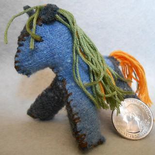 Mini Felt Horses (11)