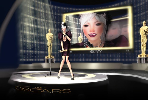 """... and the winner is.."" (Second Life Oscar Fashion and 2013 Contest)"