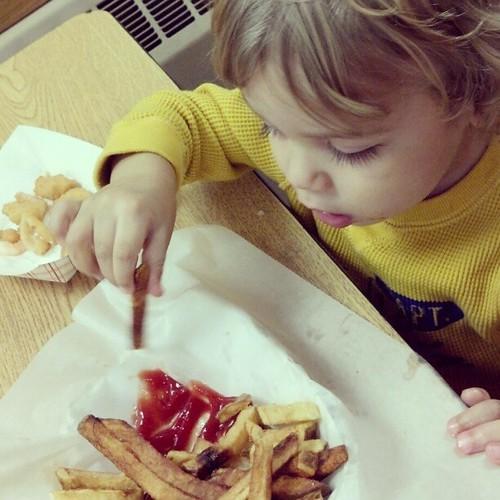 Friday Fish Fry (the boy)