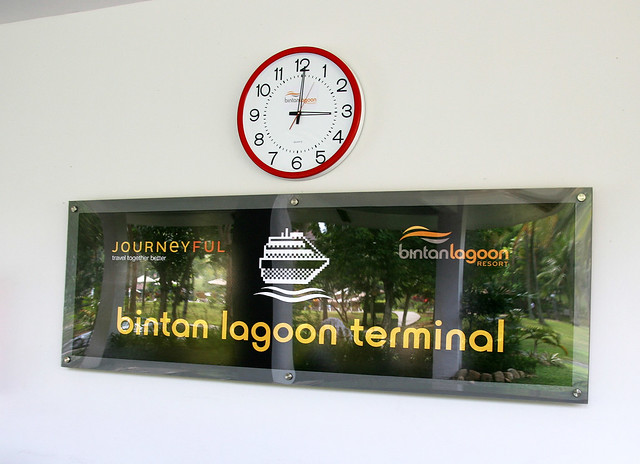Bintan Lagoon Resort has its own immigration and ferry terminal