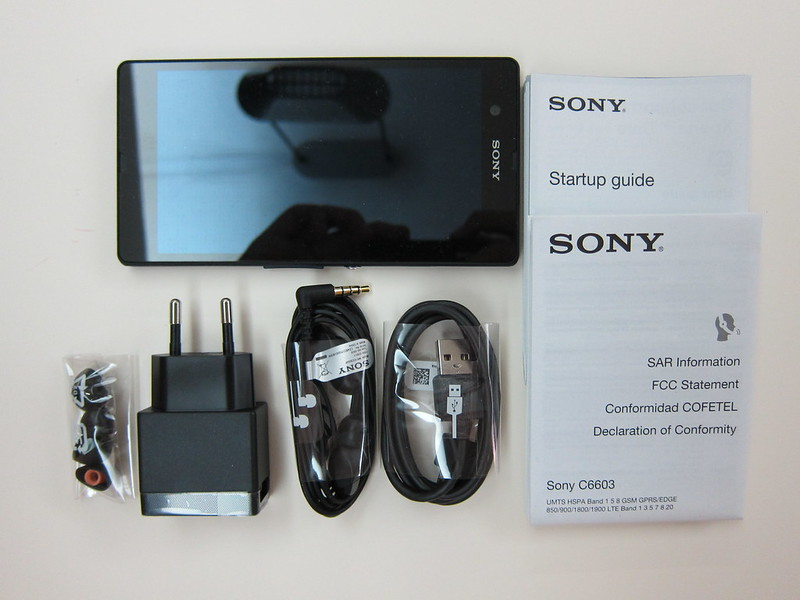 Sony Xperia Z - Box Contents