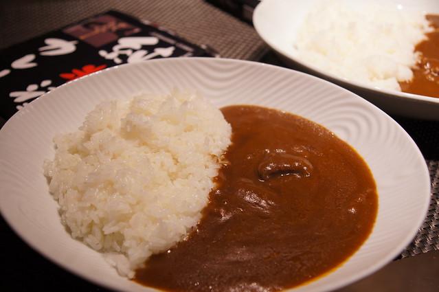 純米酒カレー千代むすび