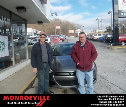 Congratulations to Catherine Elliott on the 2013 Dodge Dart by Monroeville Dodge