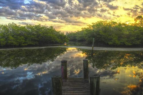sunrise canon reflections dock florida hdr eos60d blinkagain aingerpark bestofblinkwinners flutterbye216