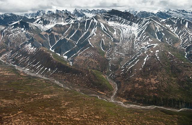Canyon Creek. Parque nacional y reserva Wrangell-San Elías. Alaska. Estados Unidos.