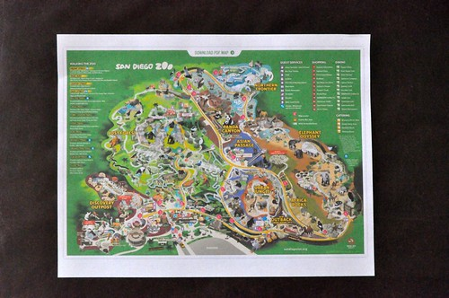I spy with zoo map