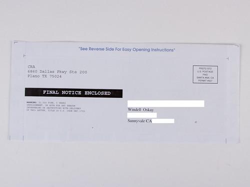Important Envelopes 4