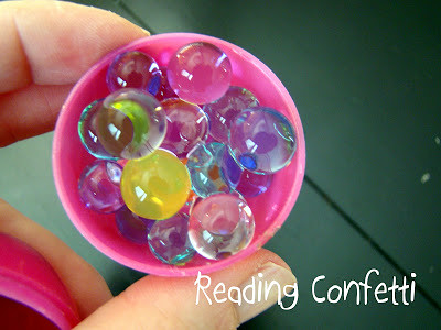 Green Eggs and Ham Water Bead Activity (Photo from Reading Confetti)