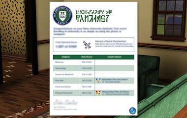 The Sims 3 University Life lessons - Pinguïntech