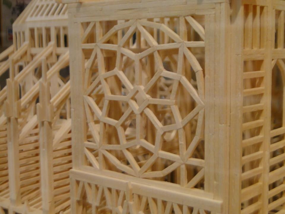 Matchitecture Building Set.  Notre-Dame-de-Paris Cathedral  FAO Schwarz 5th Avenue 8 26fb13_430