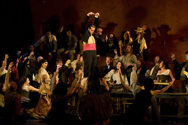Aris Argiris as Escamillo in Carmen © ROH / Mike Hoban 2010
